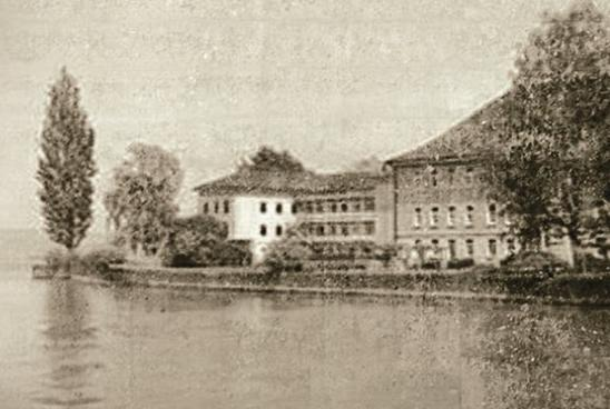 Clinica cantonale di Münsterlingen nel 1900